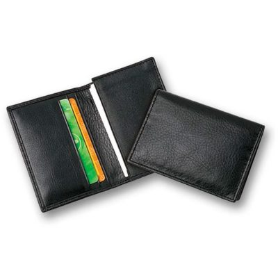 EG-102L-LA Leather Business Card Pouch
