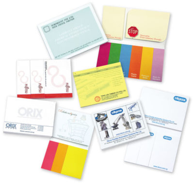 Customisable Sticky Memo Pads