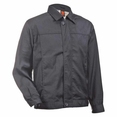 AP-101CJ-0102 Jackets - Black with Inner Checkered