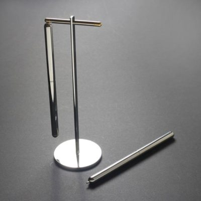 DG-136-AO Silver Pen with Stand Set