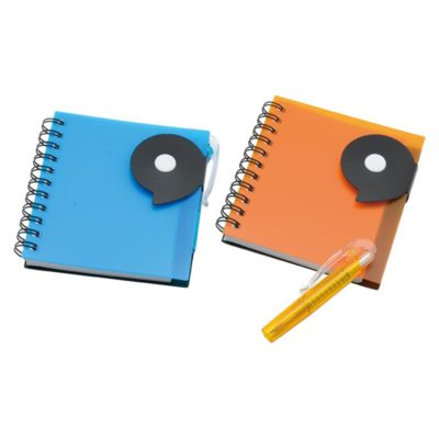 NS-165-MA Trendy PP Notebook with Pen